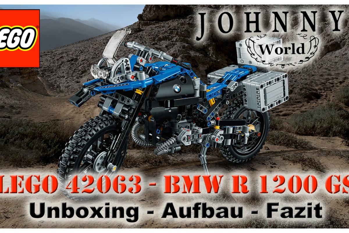 Lego 42063 Bmw R1200 Gs Unboxing Aufbau Und Fazit Johnnys World