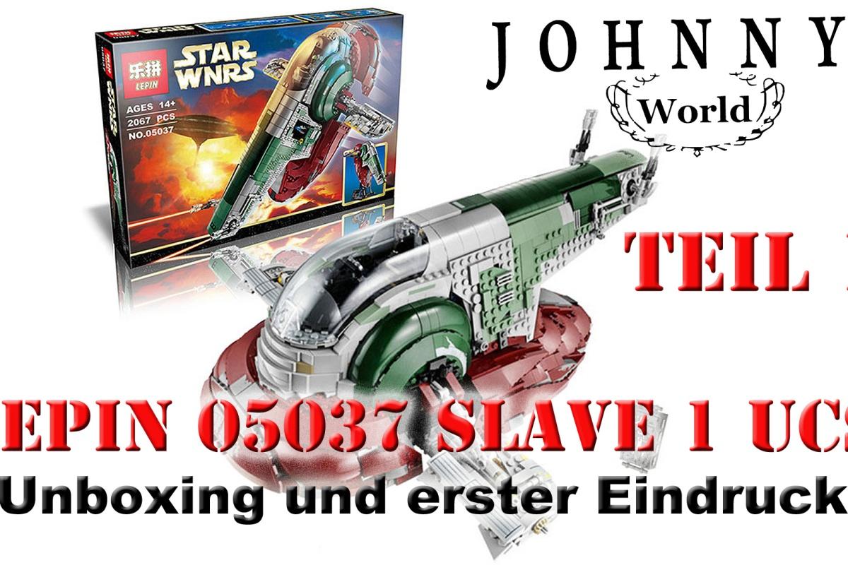 Lepin 05037 Slave 1 Unboxing Aufbau Und Fazit Johnnys World